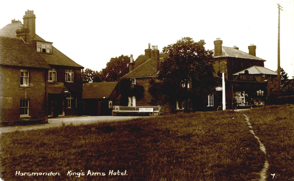 Kings Arms Horsmonden HCC HQ