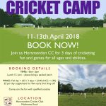 Easter Cricket Camp